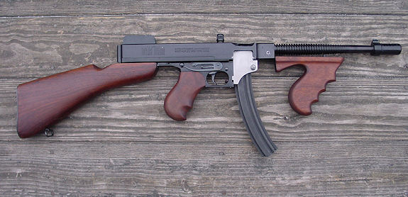 how to make a tommy gun full auto