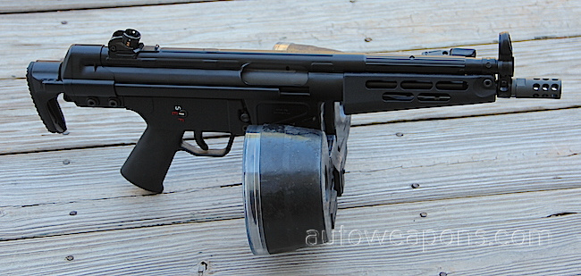 AN HK51 SHOWN WITH A BETA-C MAG