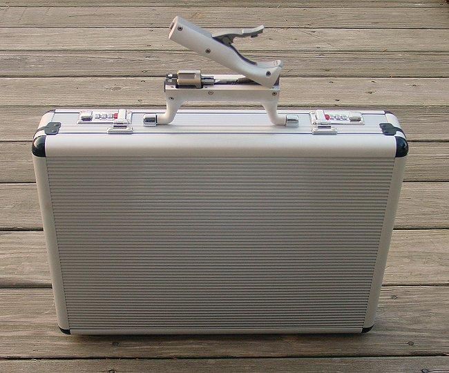 machine gun suitcase